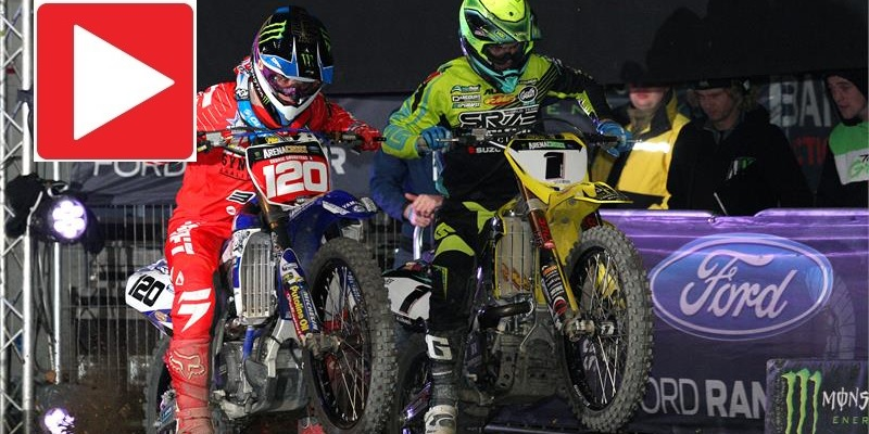 VIDEO: Imperdible FInal del Arenacross UK