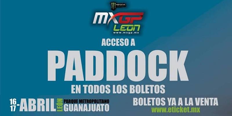 Boletos para el MXGP León