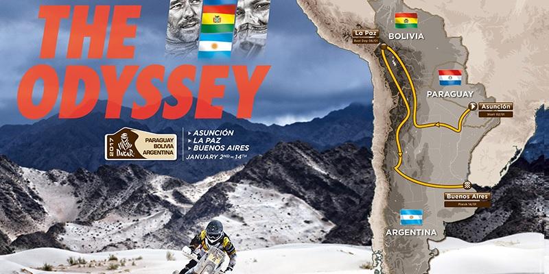 Dakar 2017; Paraguay, Bolivia y Argentina