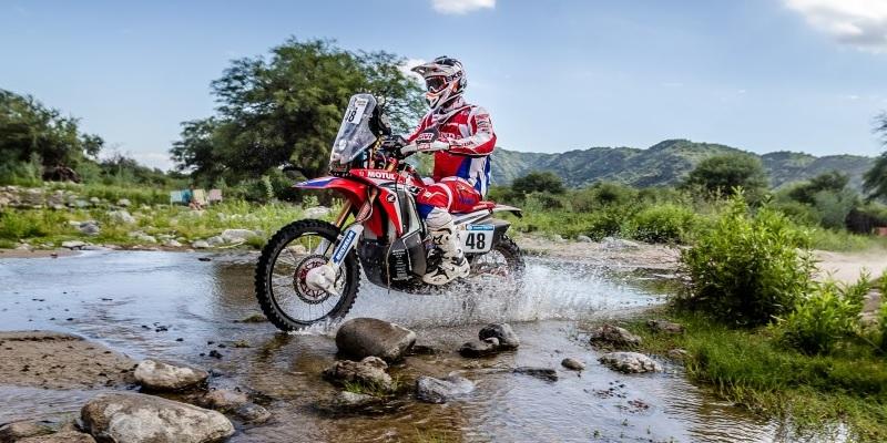 Honda en el Dakar 2017