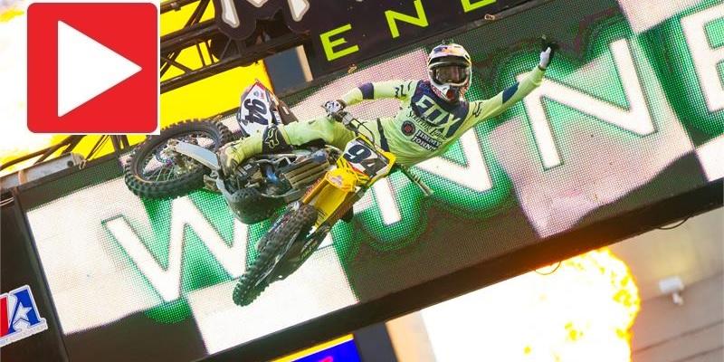 VIDEO: AMA Supercross Rd. 15
