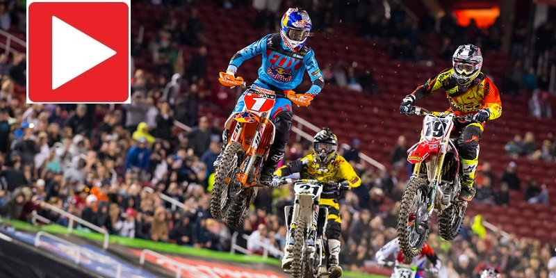 VIDEO: Supercross Santa Clara, RD. 12