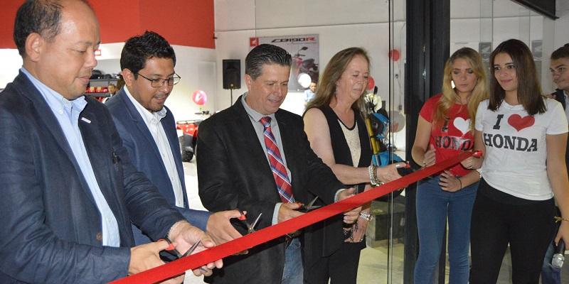 Inauguran Honda Cholula