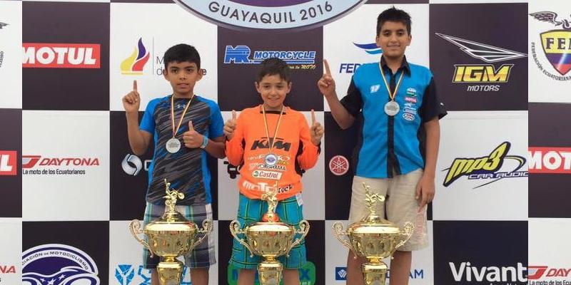 Luis Yepes, 6º en Ecuador