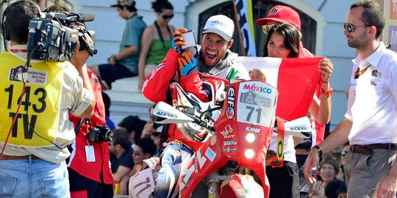 Gracida, En El Rally Dakar 2017