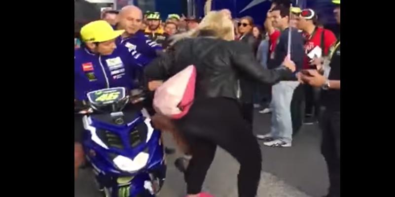 La Patada de Rossi