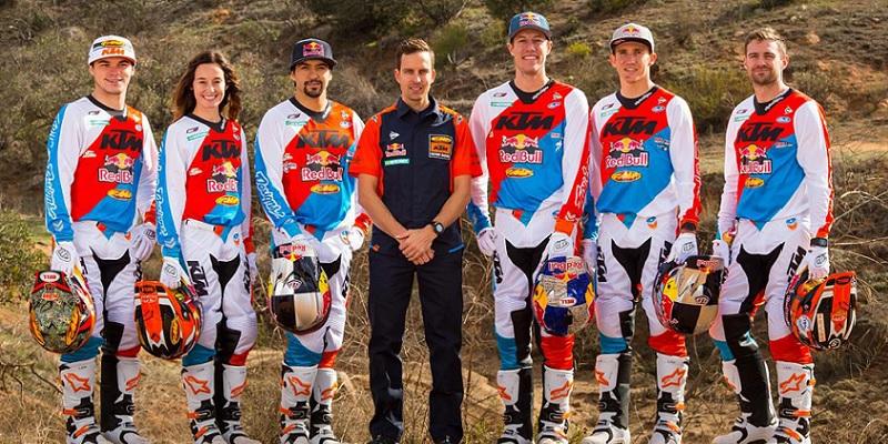 Mexicano, en el Equipo KTM USA