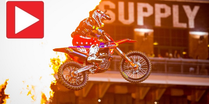 VIDEO: Supercross Round 2 – 2017