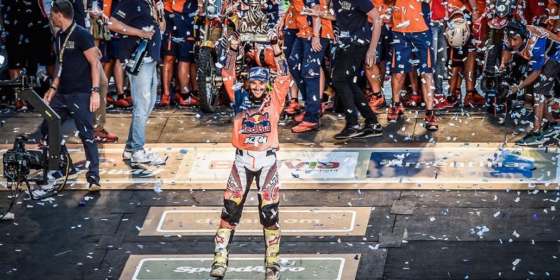Sunderland ganador del Dakar; Gracida 63º