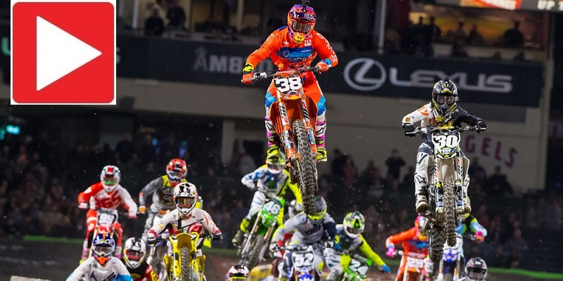 VIDEO: Inició el Supercross