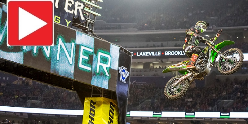 Tomac y Savatgy, dominan en Minneapolis