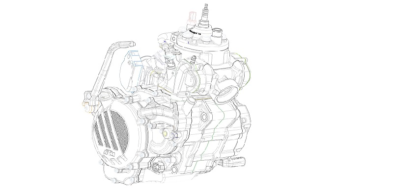 KTM 2 Tiempos de Inyección, Gama 2018