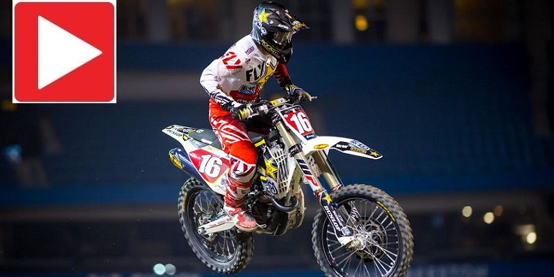 VIDEO: Supercross en Toronto