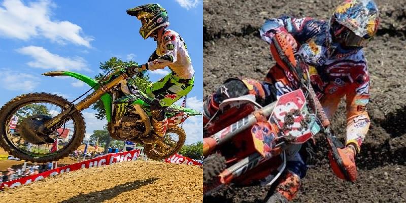 Herlings en Pro Motocross y Tomac en MXGP