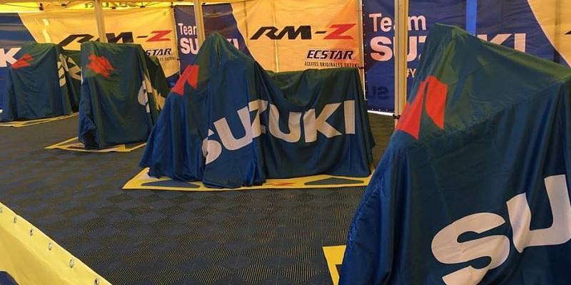 Suzuki Suspende Actividades de Motocross