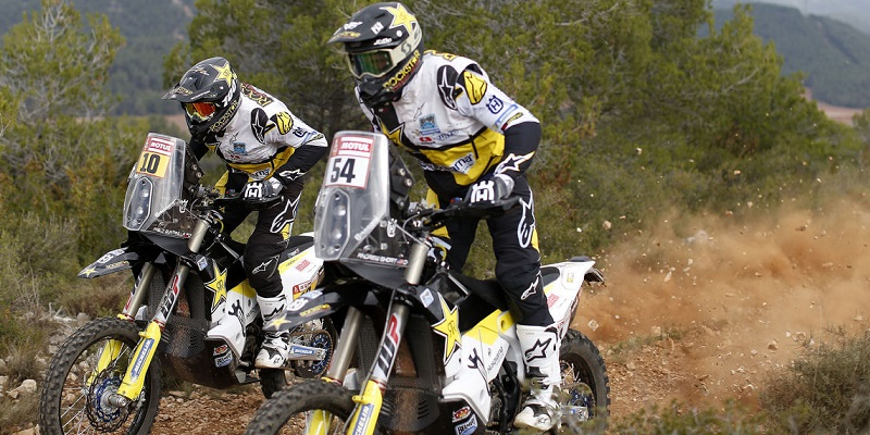 Husqvarna Presenta Dakar Team