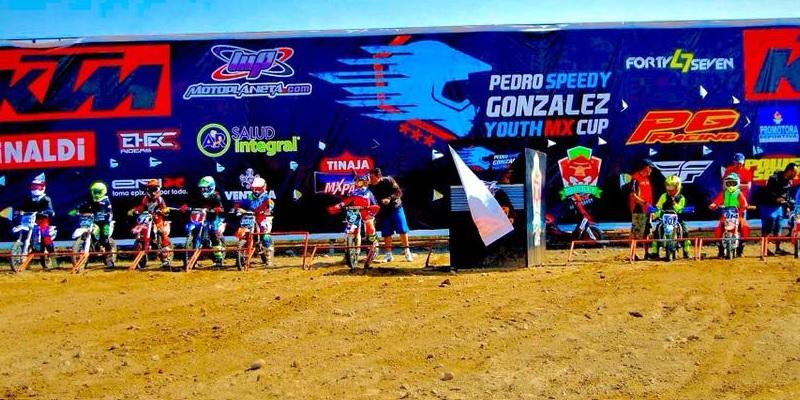 """Pedro """"Speedy"""" González Youth MX CUP"""