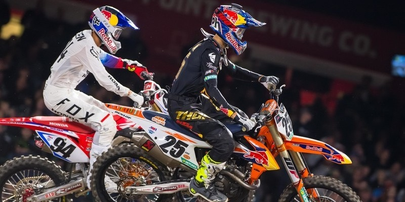 VIDEO: AMA Supercross, Anaheim I