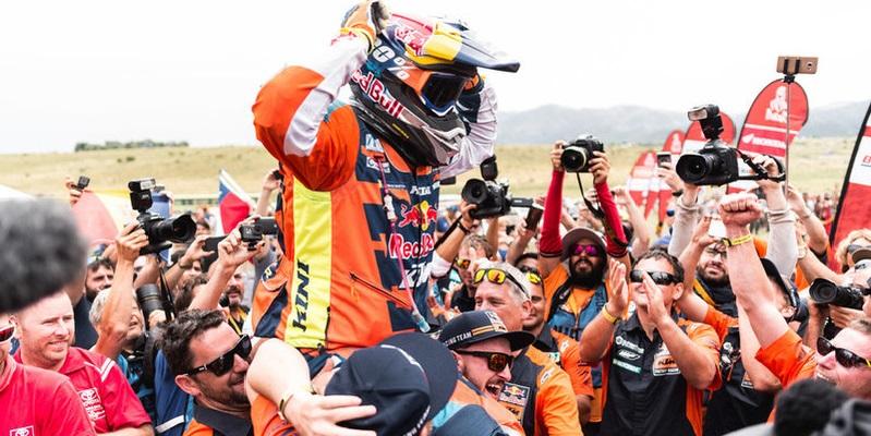 Matthias Walkner ganador del Dakar