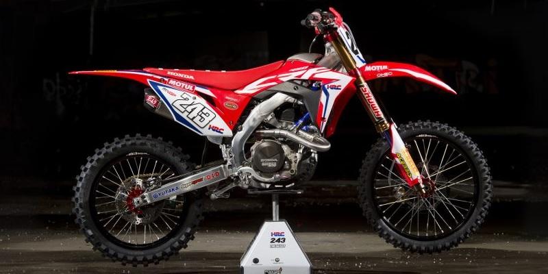 Las Honda del Mundial de Motocross