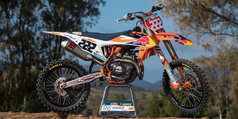 Las KTM del Mundial de Motocross