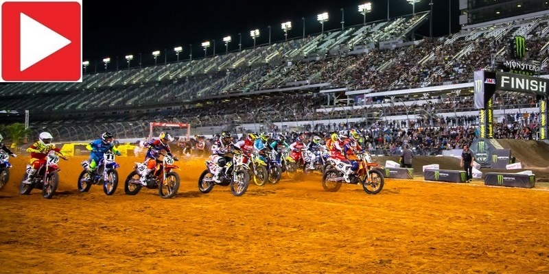 Supercross en Daytona, Highlights