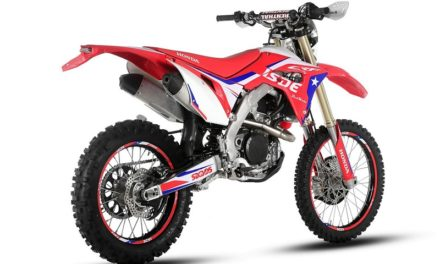 Honda Enduro versiones Six Days