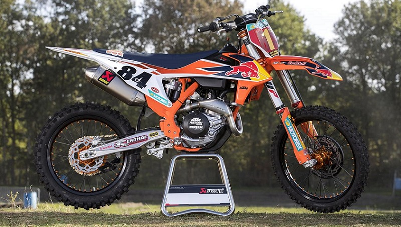 KTM 450 SX-F Réplica Jeffrey Herlings