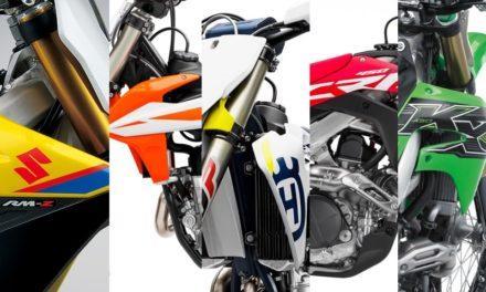 Comparativa: Motocross Clase MX1