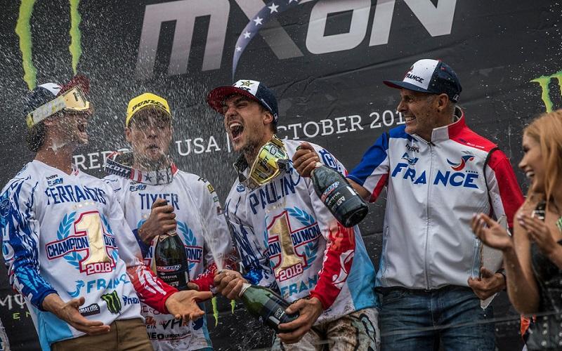 Francia Campeón del MXoN 2018
