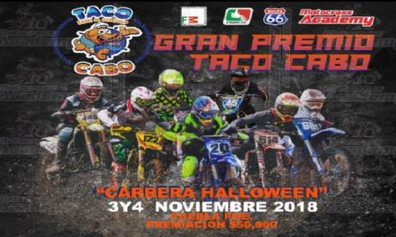 Carrera Halloween de Motocross