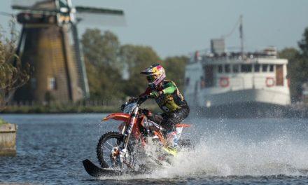 Robbie Maddison por el canal de Países Bajos