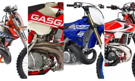 Comparativa: Enduro 250cc 2 Tiempos