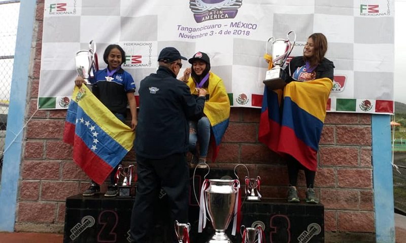 Jamie Astudillo Campeona Latinoamericana de MX