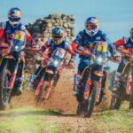 Equipo KTM Rally para el Dakar 2019