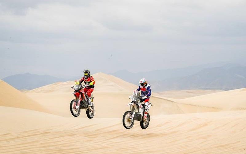 Dakar: 75º Gracida y 24º Creel
