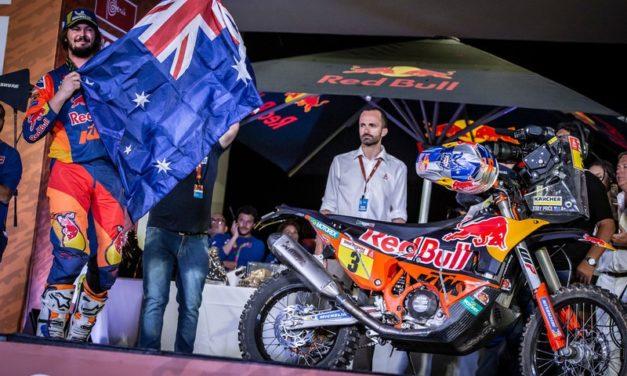 Toby Price, 2 veces Ganador del Dakar