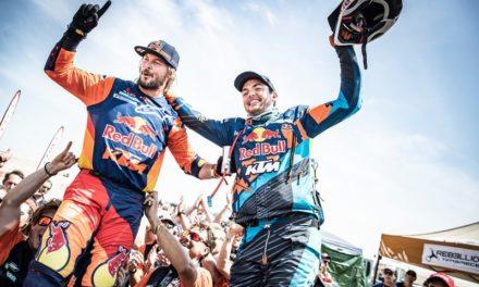 Gana Toby Price el Dakar y Gracida 49º