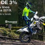 Husqvarna Ajusco: Bono de 3% en Tienda