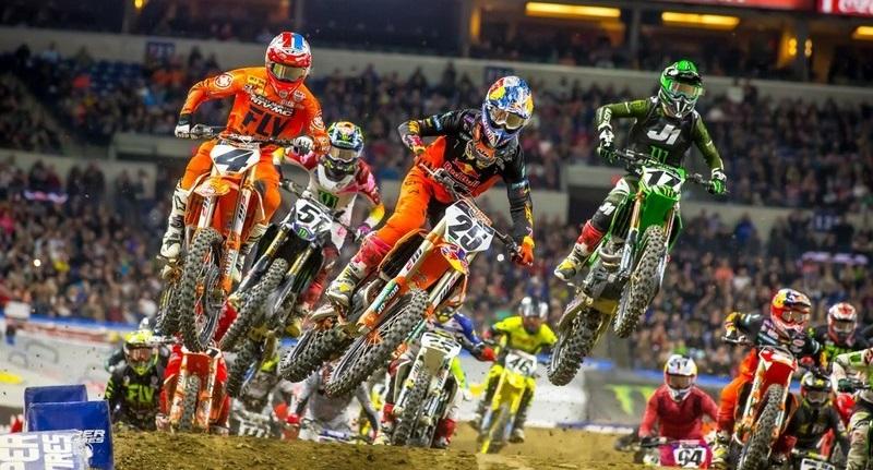 VIDEO: Supercross Highlights – Indianápolis