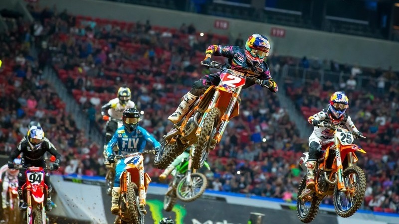 Supercross Highlights, Rd. 9 Atlanta