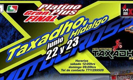 Motocross Platino Plus en Taxadhó