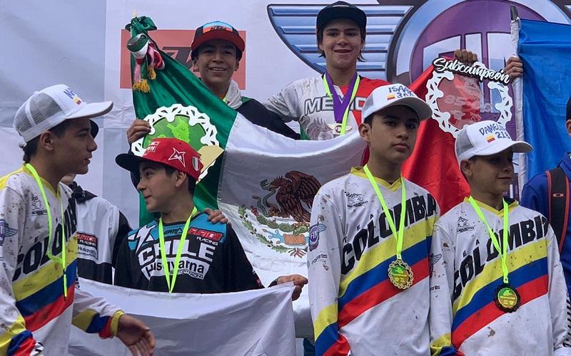 Daniel Fragoso, Subcampeón Latinoamericano de MX