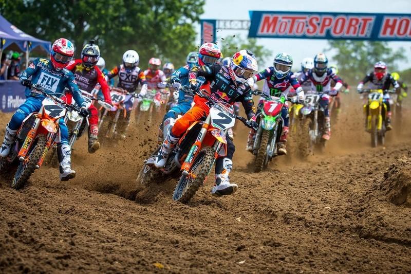 López y Piazza en el Pro-Motocross