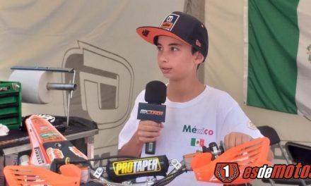 Lorenzo Díaz en el Mundial Júnior
