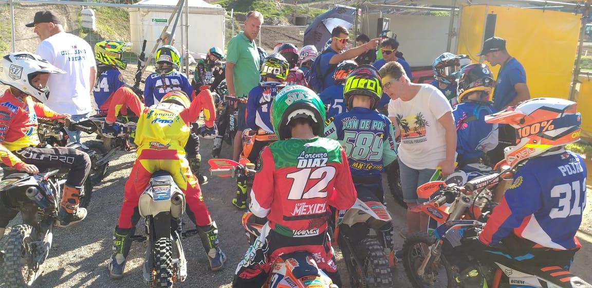 México en el Mundial de Motocross Júnior