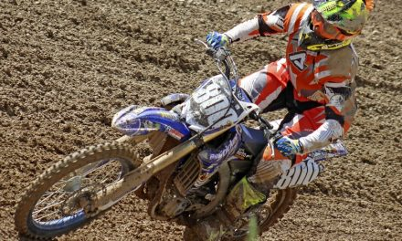 Casillas, 15º  en Latinoamericano de Motocross