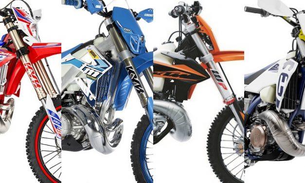 Enduro 250 – 2T | Comparativa