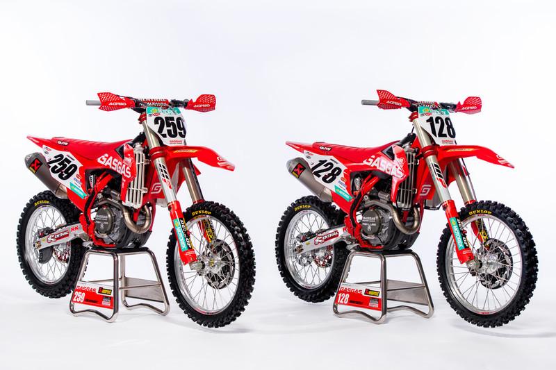 Las GasGas del Mundial de Motocross
