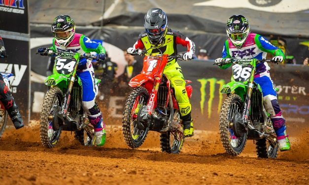Supercross Rd. 9 en Atlanta